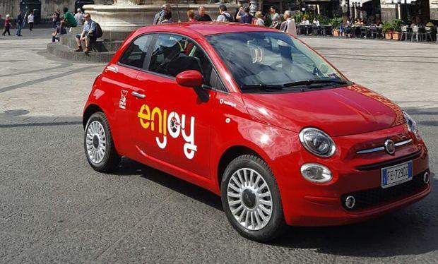 Enjoy sbarca a Catania con 170 Fiat 500
