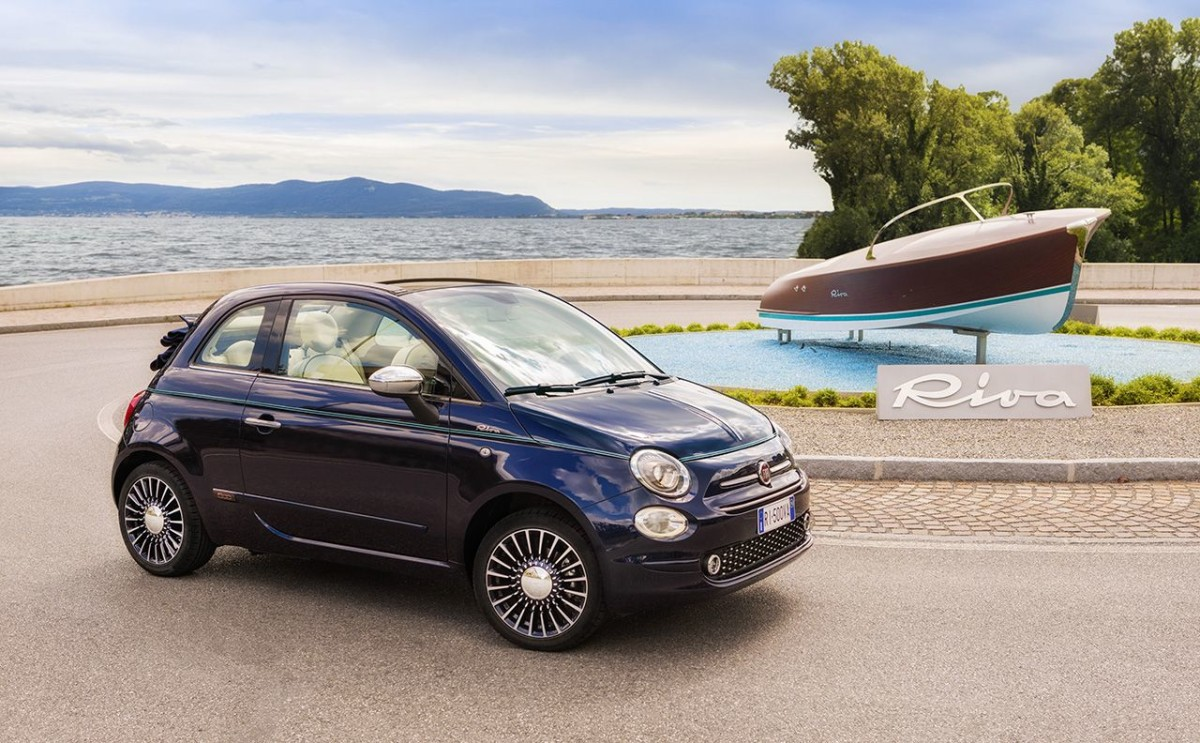 "Fiat 500 Riva: ""The Smallest Yacht in the world"""