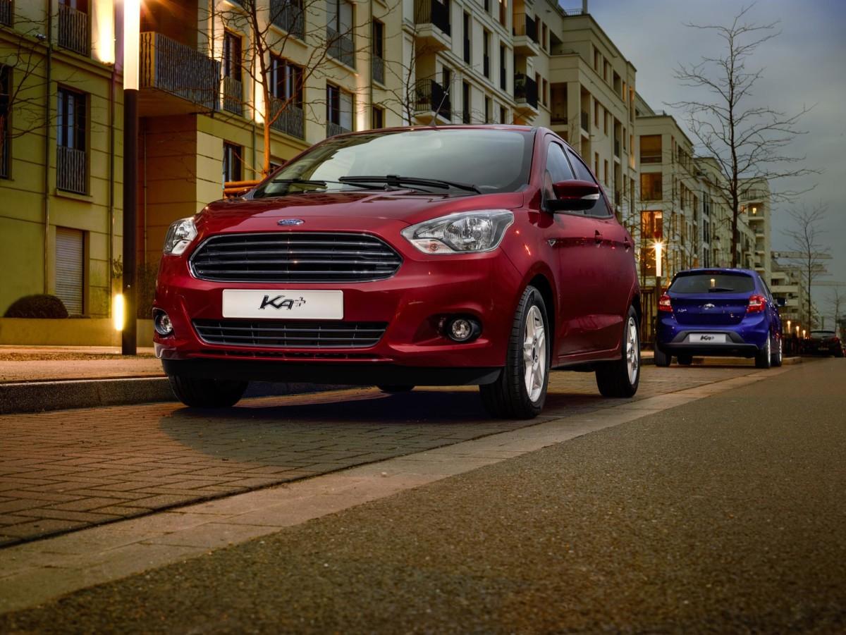 Ford presenta la nuova KA+