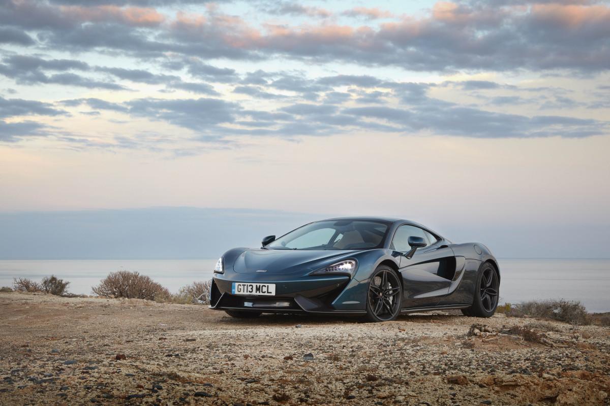 McLaren 570GT: anteprima nazionale al Valentino