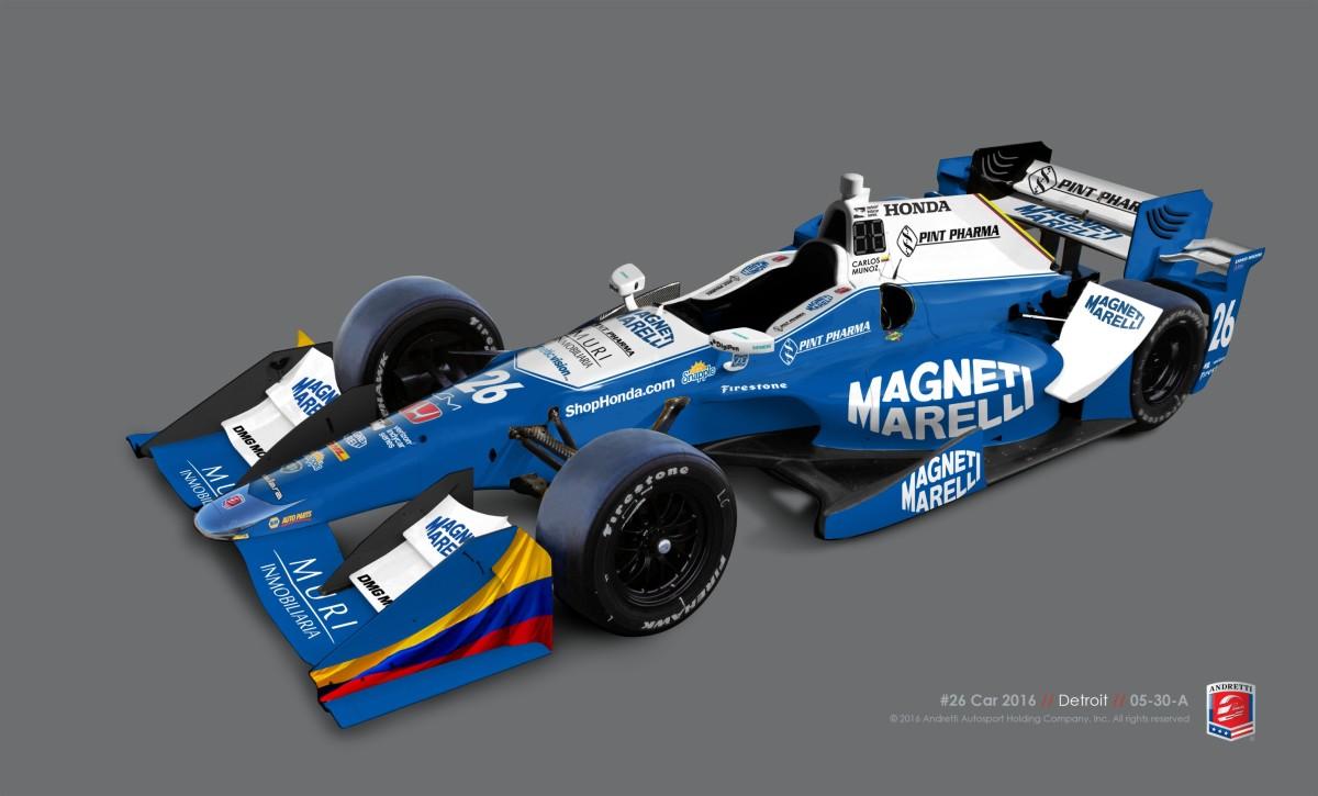 IndyCar: Andretti Autosport e Magneti Marelli partner