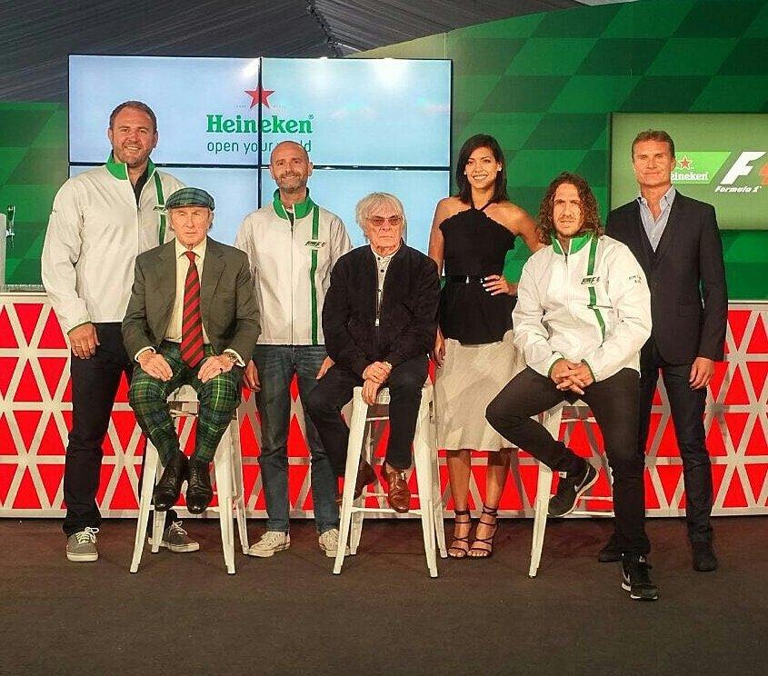 Heineken in F1 e sponsor del GP d'Italia