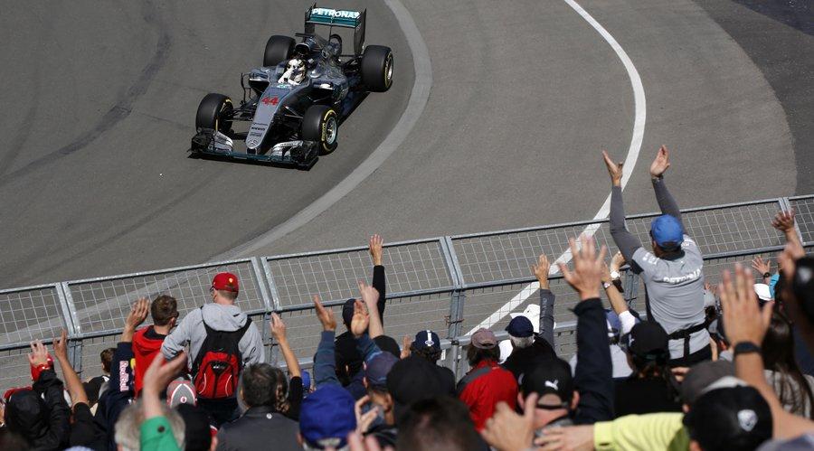 GP Canada: FP1 (asciutte) alle Mercedes