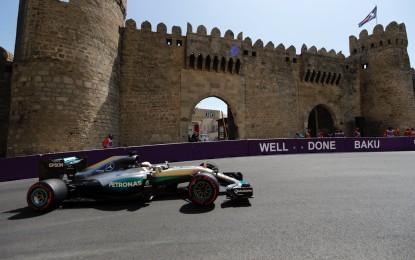 GP Europa FP3: di nuovo Hamilton