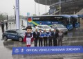 EURO 2016: Hyundai consegna oltre 350 veicoli