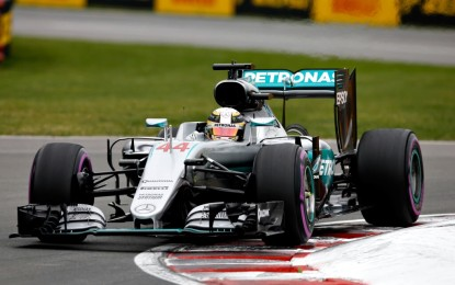 GP Canada: Hamilton 5° pole a Montreal, Nico e Vettel a un soffio