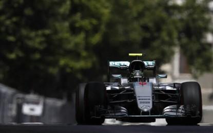 GP Europa: a Rosberg la prima pole a Baku