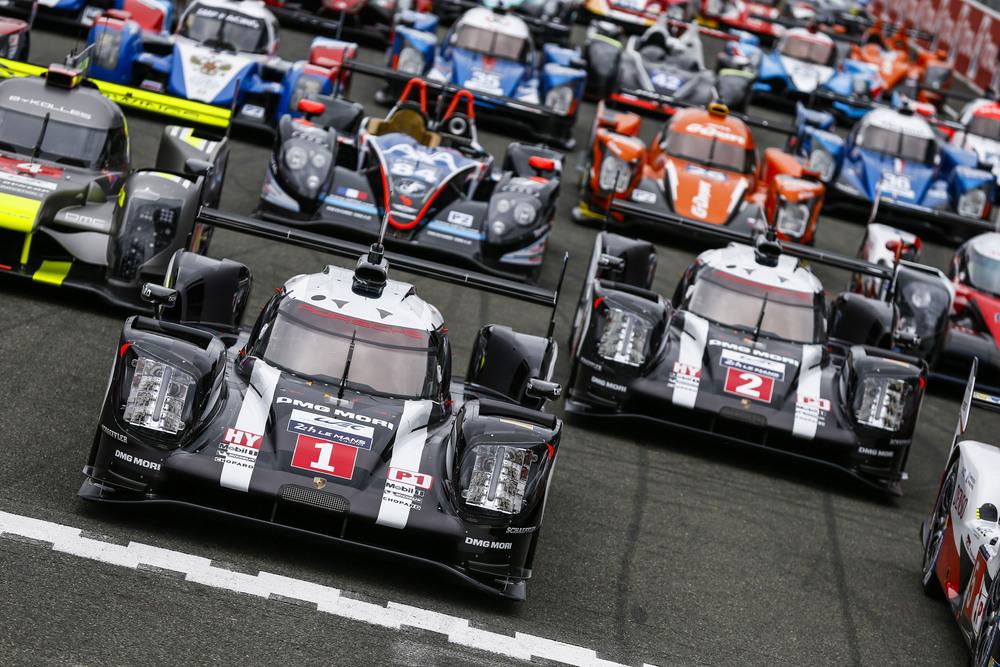 Porsche 919 Hybrid a punto per Le Mans