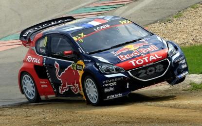 Rallycross: Loeb e Hansen nell'inferno di Hell con le 208 WRX