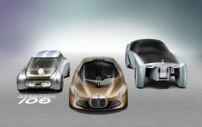 BMW Group presenta THE NEXT 100 YEARS