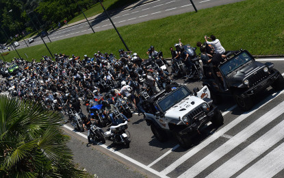 Terzo raduno jeepers e bikers