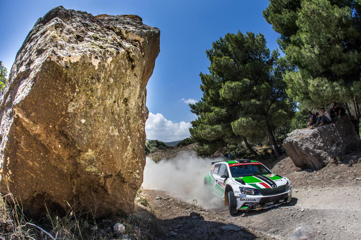 Rally Italia Sardegna: ritiro per Scandola
