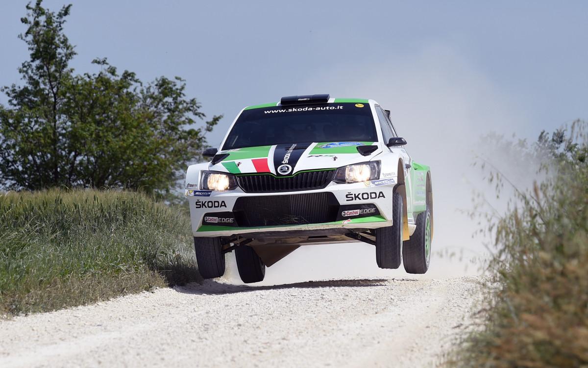 ŠKODA Italia Motorsport al Rally Italia Sardegna