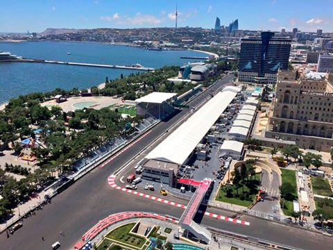GP d'Europa: da domani via al weekend di Baku