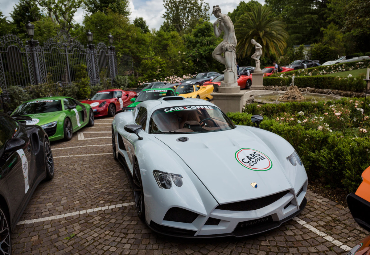 Cars and Coffee al Salone dell'Auto di Torino