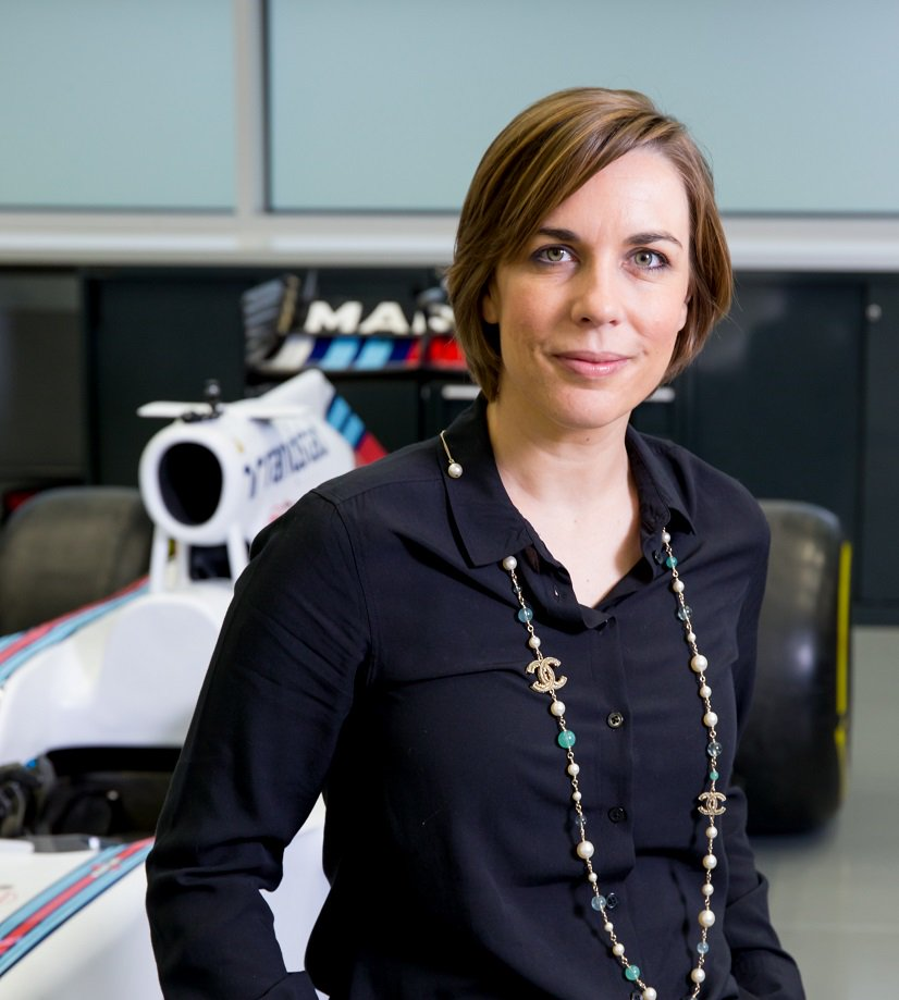 Claire Williams Officer of the Order of the British Empire