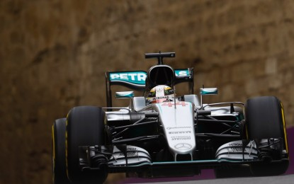 GP Europa FP2: ancora Hamilton. Problemi per Rosberg e Ferrari