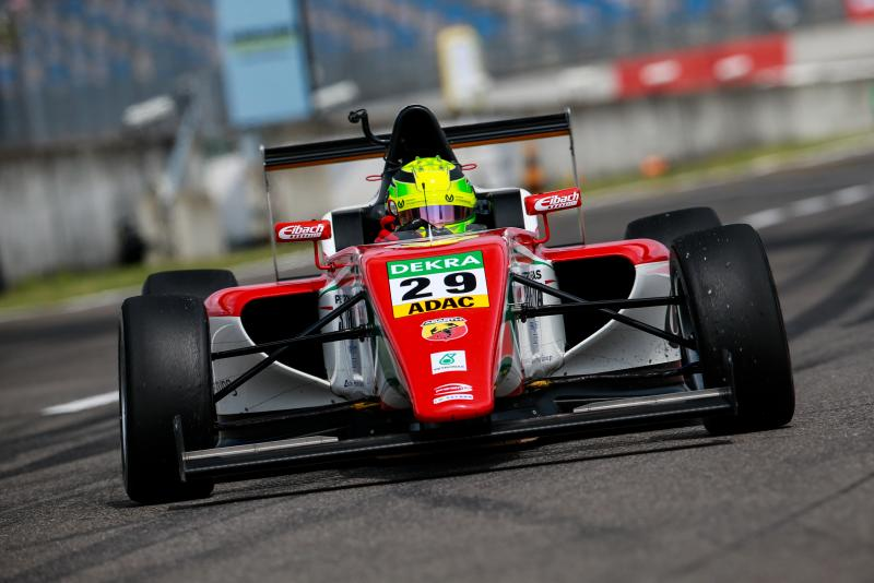 F4: double pole for Mick Schumacher at Lausitzring
