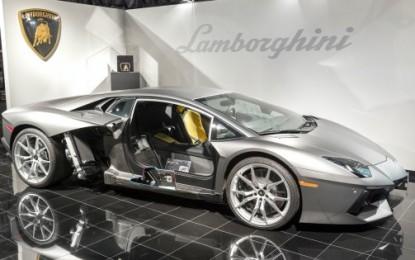 Lamborghini: nuovo laboratorio per la fibra di carbonio