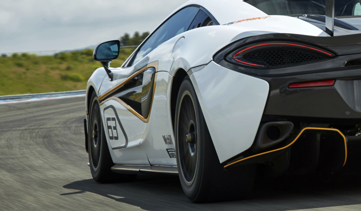 Svelata a Goodwood la McLaren 570S Sprint