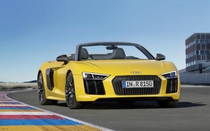 Audi R8 Spyder V10: al via la prevendita