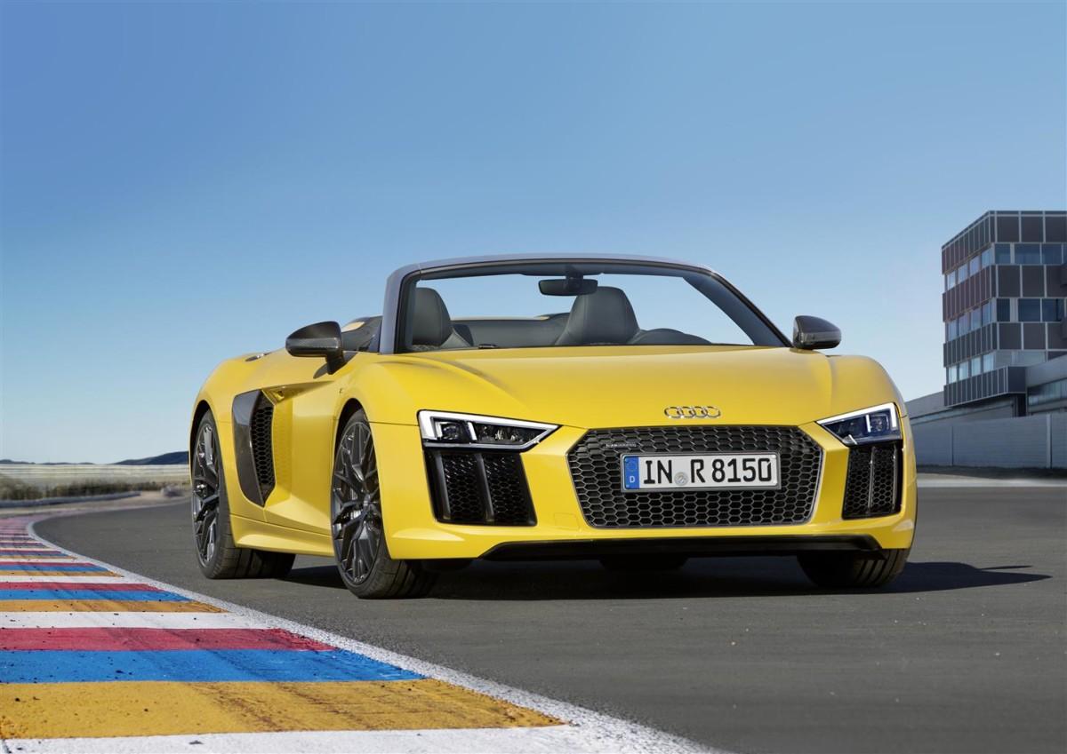 Audi R8 Spyder: anteprima nazionale al Valentino