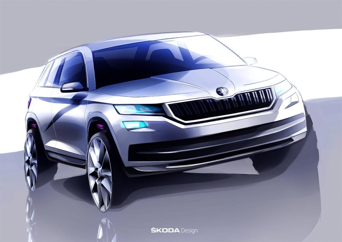 Nuovo ŠKODA Kodiaq: funzionalità attraente