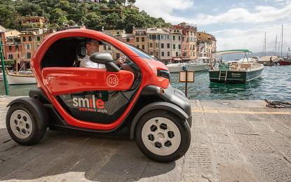 Renault Twizy muove Santa Margherita Ligure