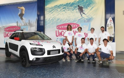 Citroën presenta il suo Unconventional Team