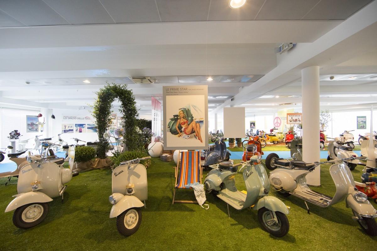 #ExhibitionVespa: al Museo Nicolis 70 anni di Vespa