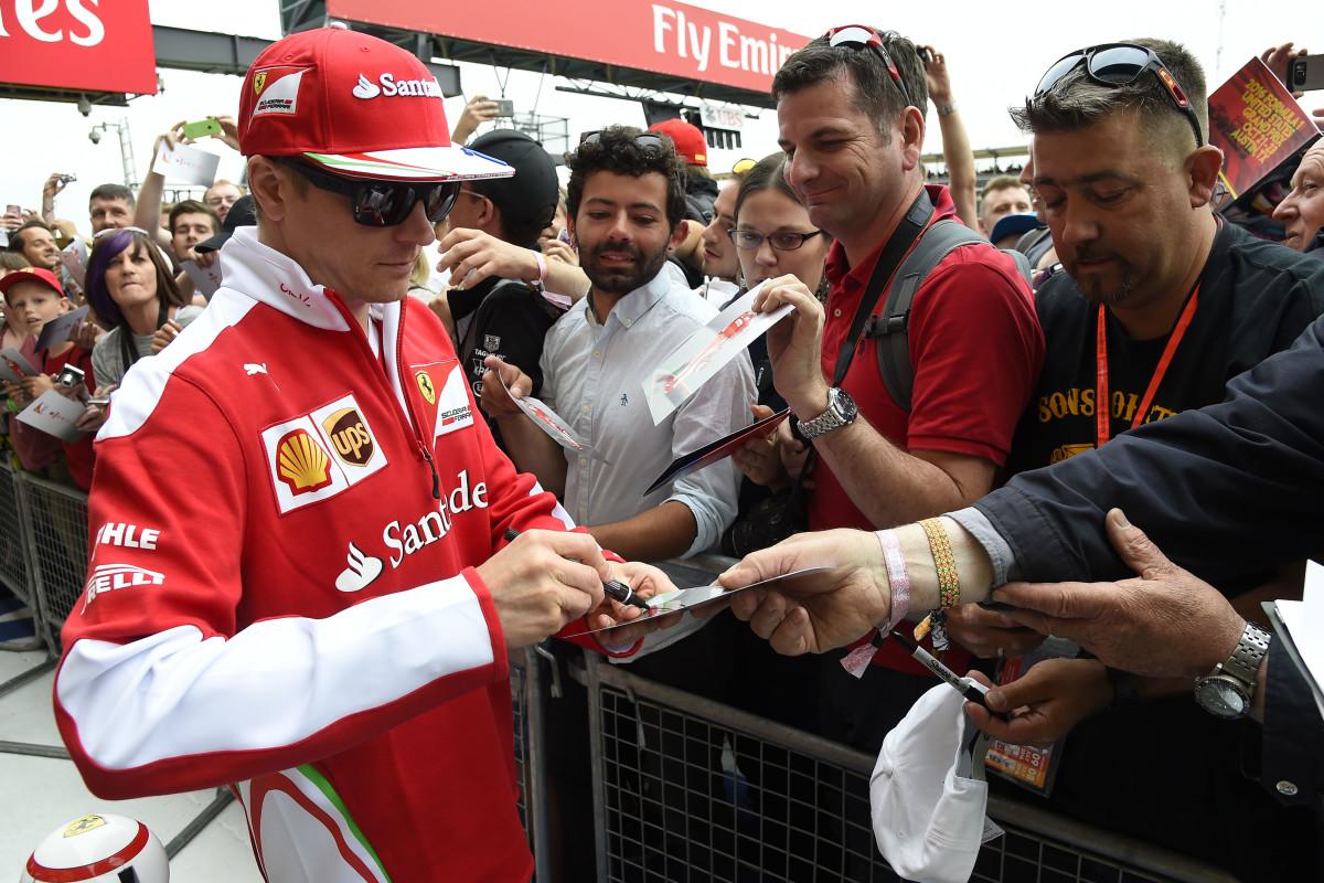 Kimi Raikkonen: 100 gare in Rosso a Silverstone
