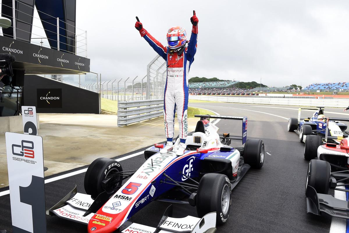 GP3: Antonio Fuoco trionfa a Silverstone