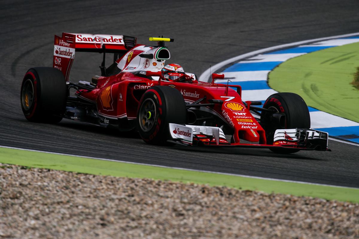 GP Germania: Ferrari in terza fila, Raikkonen davanti a Vettel