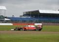 Il debutto di Leclerc nei test a Silverstone