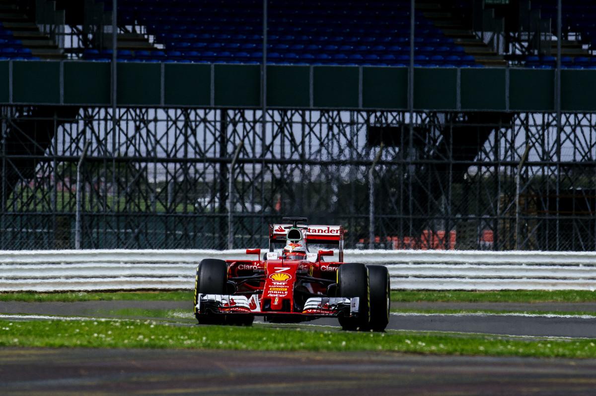Silverstone: Raikkonen davanti a tutti nell'ultimo giorno di test