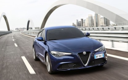 Giulia: nuovo motore 2.0 Turbo benzina e nuovi Pack