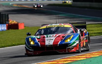 WEC: tre Ferrari in pista alla 6 Ore del Nurburgring