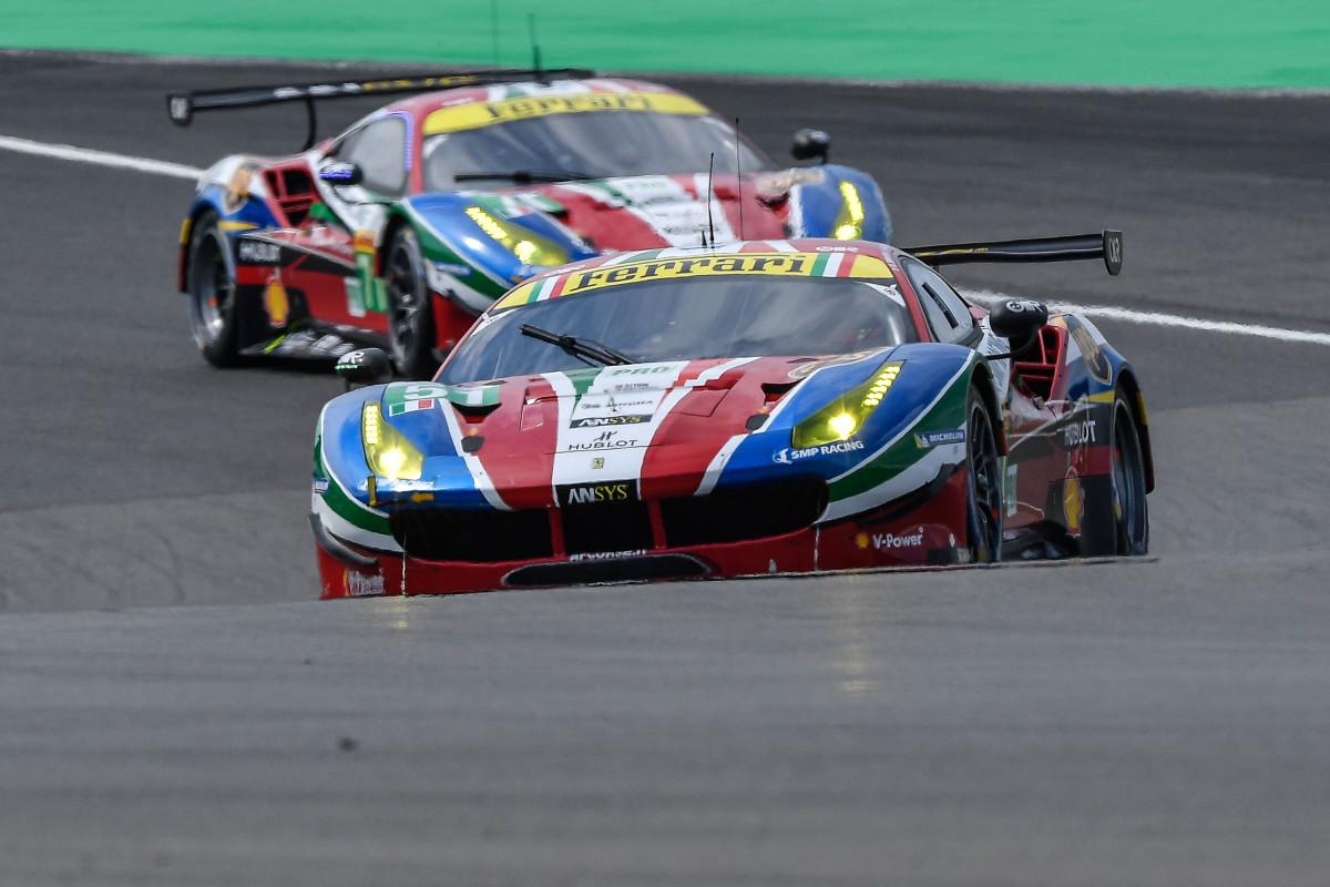 WEC: doppietta Ferrari alla 6 Ore del Nürburgring