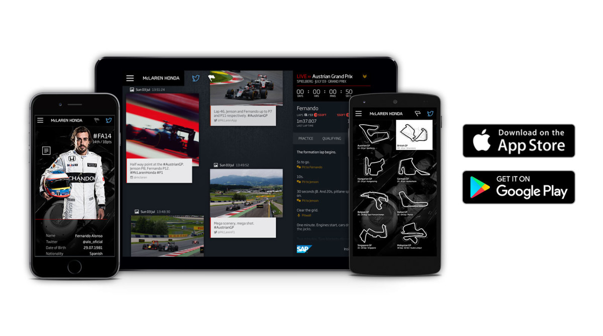 Mclaren Honda App Anche Per Android Everycircuit Apps On Google Play