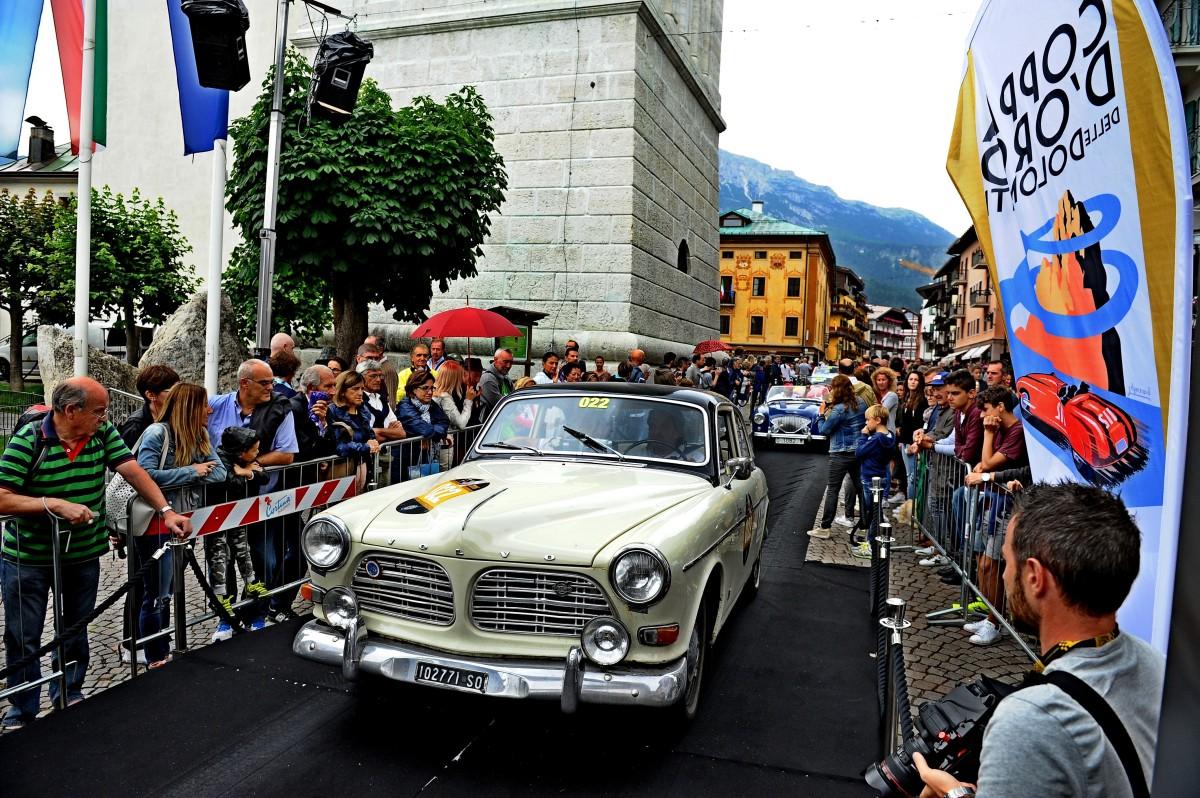 Coppa d'Oro delle Dolomiti: Scuderia Volvo sul podio