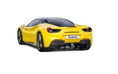 Akrapovič: nuovo impianto di scarico per Ferrari 488 GTB