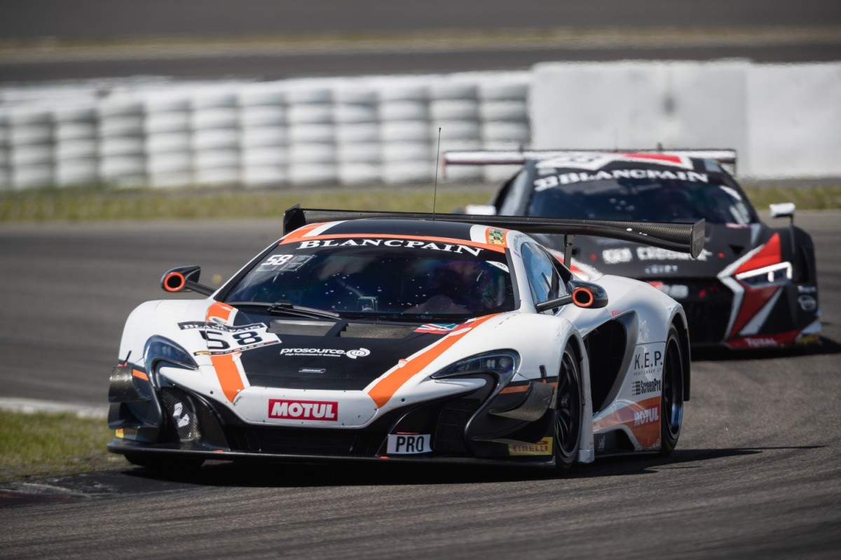 McLaren returns to the Total 24 Hours of Spa