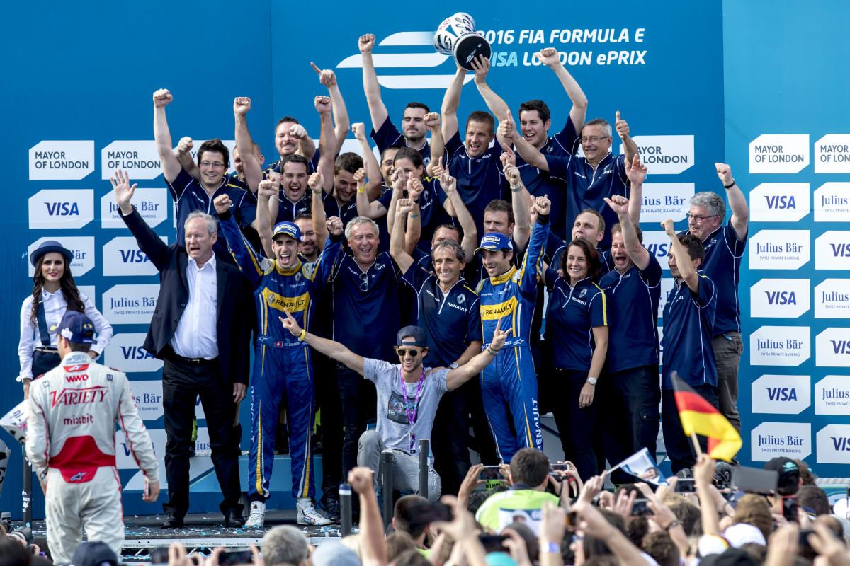 Sebastien Buemi nuovo campione Formula E