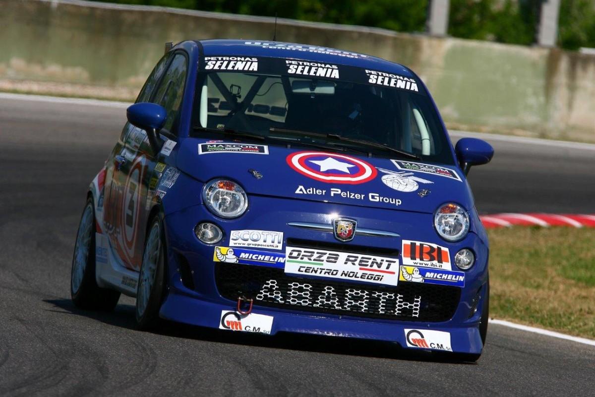 Trofeo Abarth Selenia: a Magione pole di Barberini