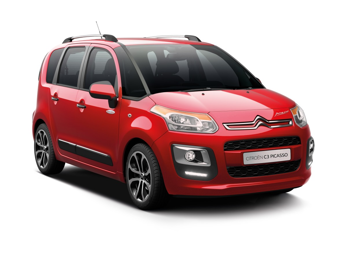 Citroën C3 e C3 Picasso in edizione top Monna Lisa