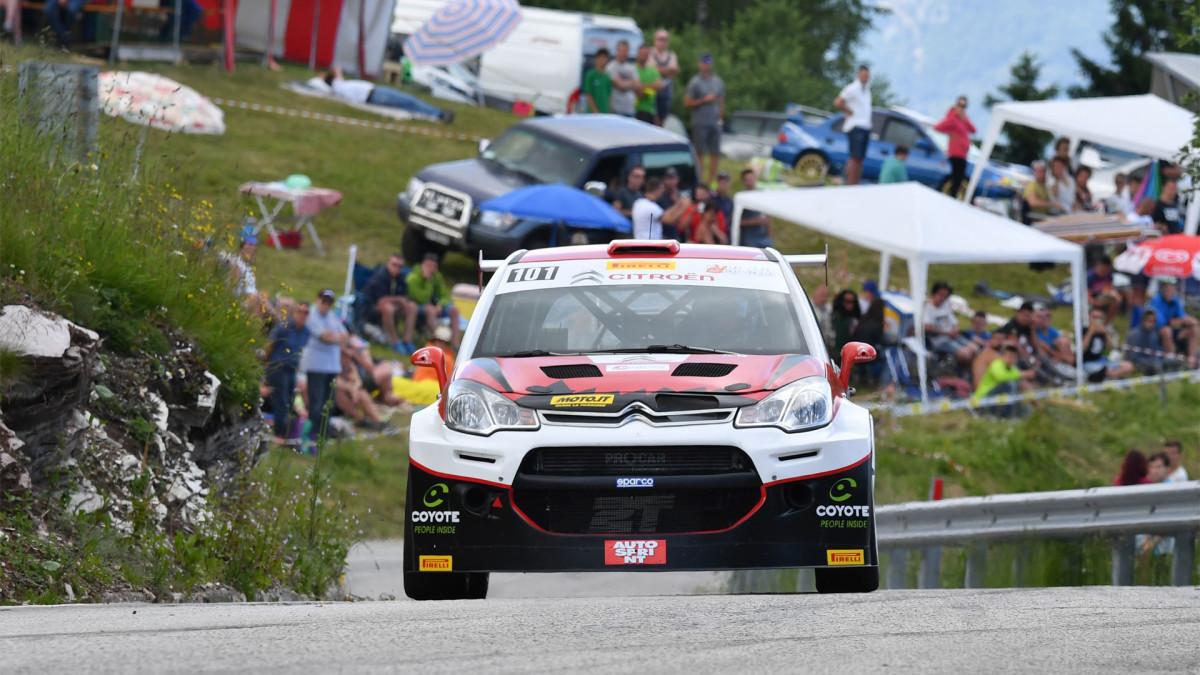 CIVM: la Citroën C3 Max conquista la Trento-Bondone