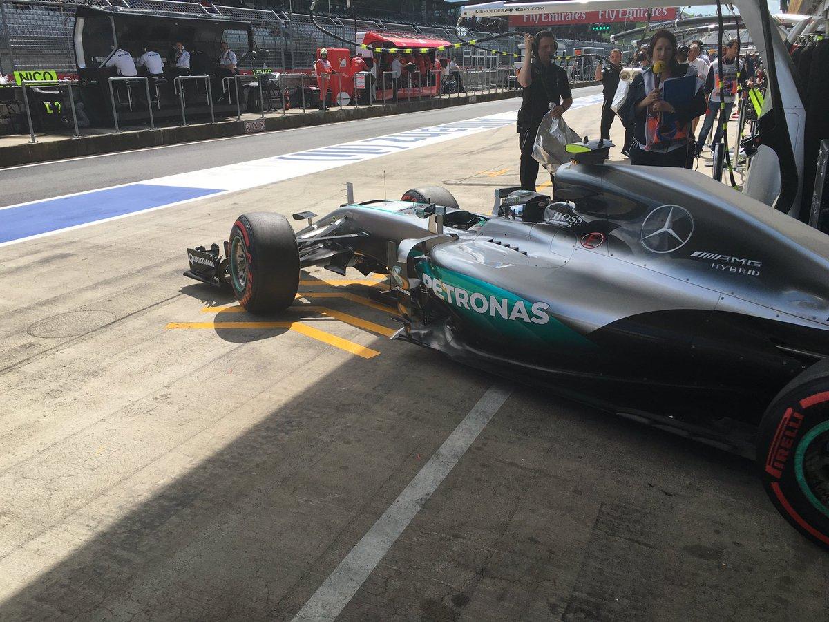 GP Austria: meteo protagonista delle FP2, con le Mercedes