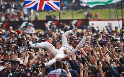 Hamilton padrone di Silverstone, ma dietro di lui tutto incerto