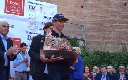 Il Trofeo Bandini a Max Verstappen