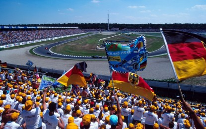 La F1 torna in Germania: via da oggi su Sky